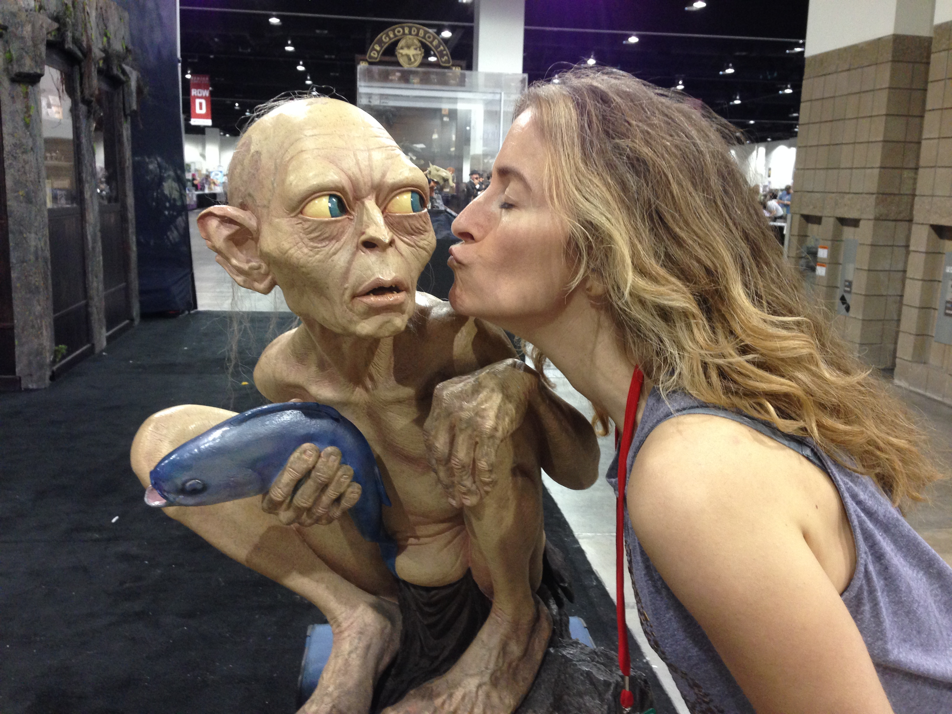 A kiss for Smeagol
